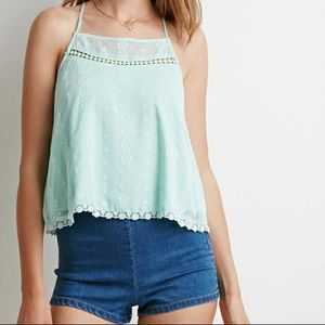 🌻Forever 21 Woven Top/Cami